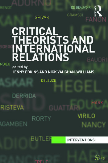 Critical Theorists and International Relations book cover