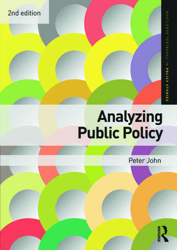 Analyzing Public Policy book cover