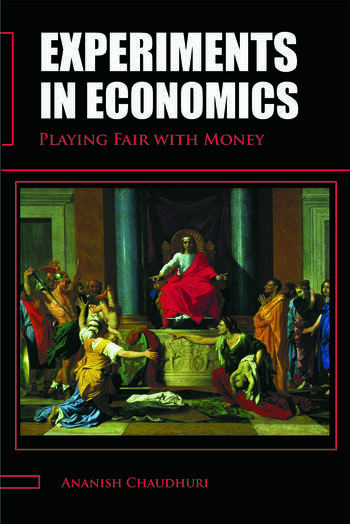Experiments in Economics Playing fair with money book cover