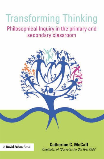 Transforming Thinking Philosophical Inquiry in the Primary and Secondary Classroom book cover