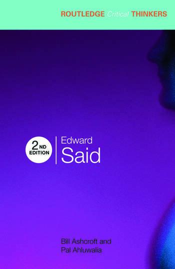 Edward Said book cover