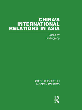 China's International Relations in Asia book cover