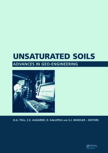 Unsaturated Soils. Advances in Geo-Engineering Proceedings of the 1st European Conference, E-UNSAT 2008, Durham, United Kingdom, 2-4 July 2008 book cover