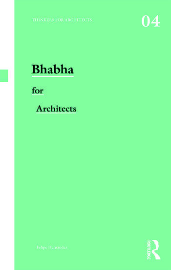 Bhabha for Architects book cover