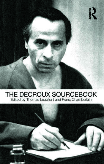 The Decroux Sourcebook book cover