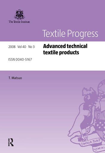 Advanced Technical Textile Products book cover