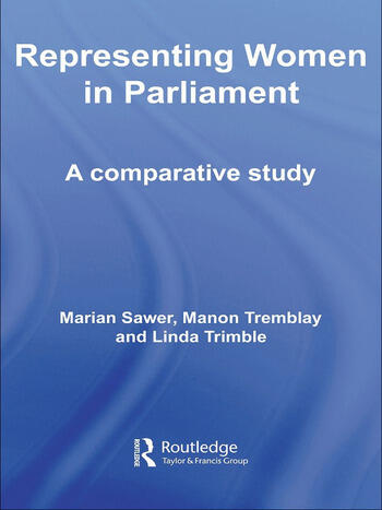 Representing Women in Parliament A Comparative Study book cover