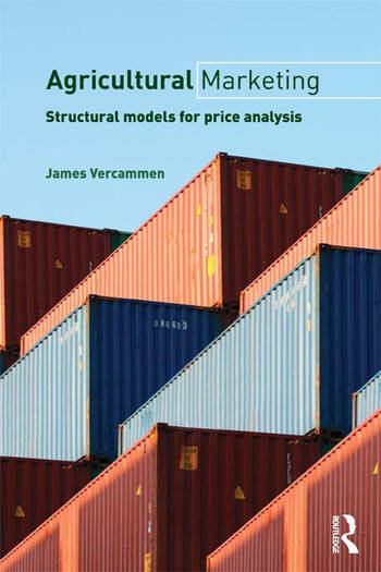 Agricultural Marketing Structural Models for Price Analysis book cover