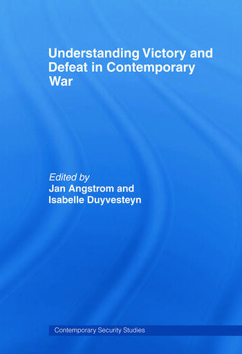 Understanding Victory and Defeat in Contemporary War book cover