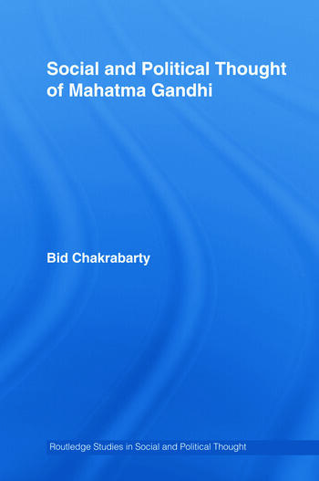 Social and Political Thought of Mahatma Gandhi book cover