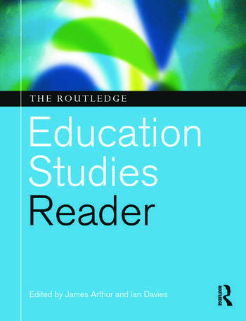 The Routledge Education Studies Reader book cover