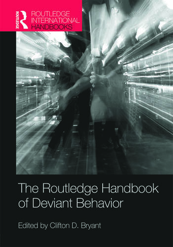 Routledge Handbook of Deviant Behavior book cover