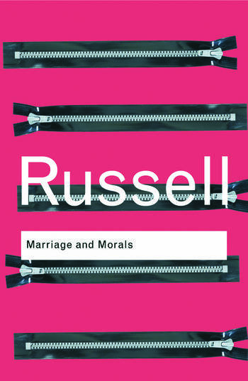 Marriage and Morals book cover