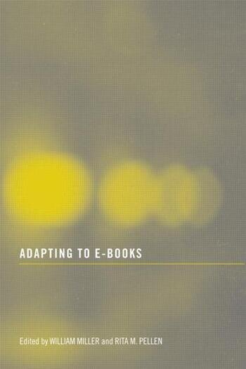 Adapting to E-Books book cover