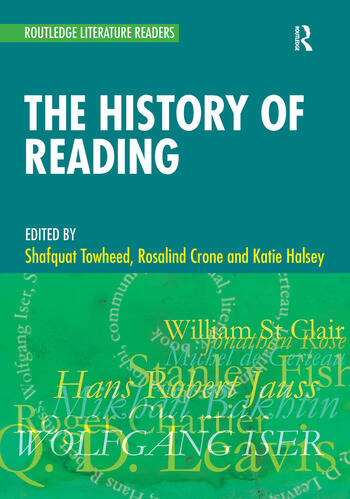 The History of Reading book cover