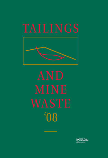Tailings and Mine Waste '08 book cover