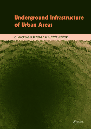 Underground Infrastructure of Urban Areas Book + CD-ROM book cover