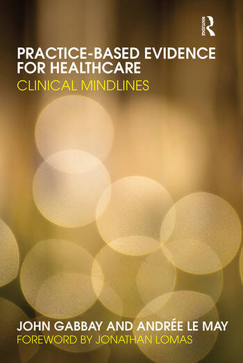 Practice-based Evidence for Healthcare Clinical Mindlines book cover