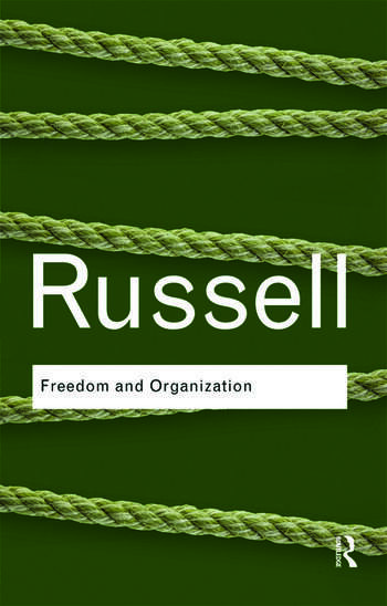 Freedom and Organization book cover