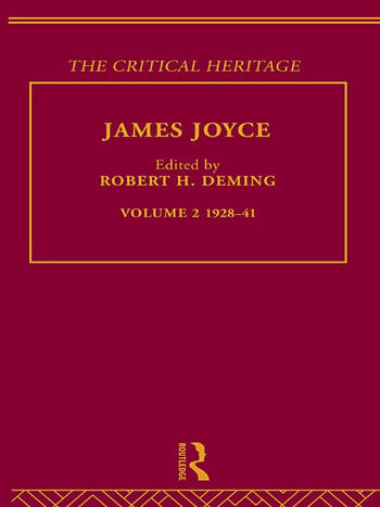 James Joyce. Volume 2: 1928-41 book cover