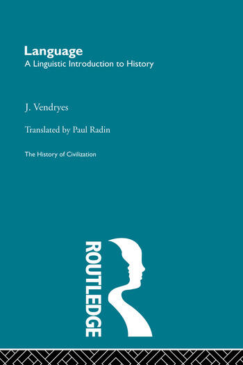 Language: A Linguistic Introduction to History book cover