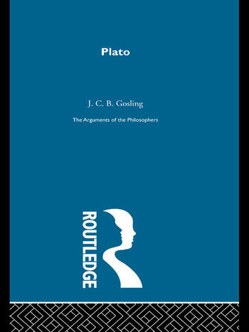Plato - Arguments of the philosophers book cover