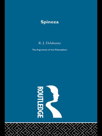 Spinoza - Arguments of the Philosophers (paperback direct) book cover