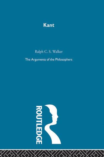 Kant - Arg Phil book cover