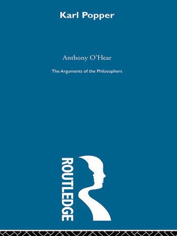 Popper - Arg Philosophers book cover