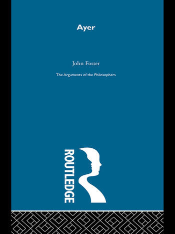 Ayer -Arg Philosophers book cover