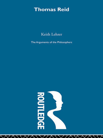 Reid - Arg Philosophers book cover