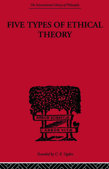 Five Types of Ethical Theory book cover