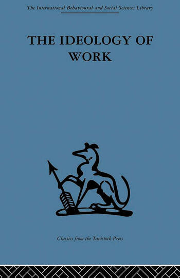 The Ideology of Work book cover