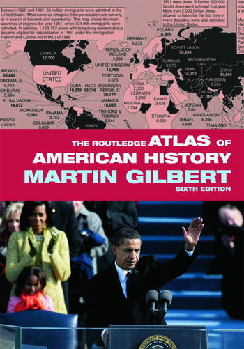 The Routledge Atlas of American History book cover