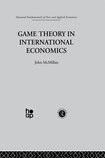 Game Theory in International Economics book cover