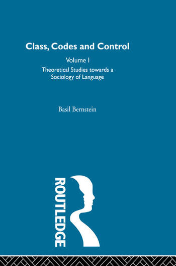 Theoretical Studies Towards a Sociology of Language book cover