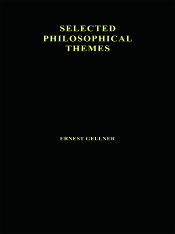 Contemporary Thought and Politics book cover