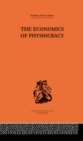 Economics of Physiocracy book cover
