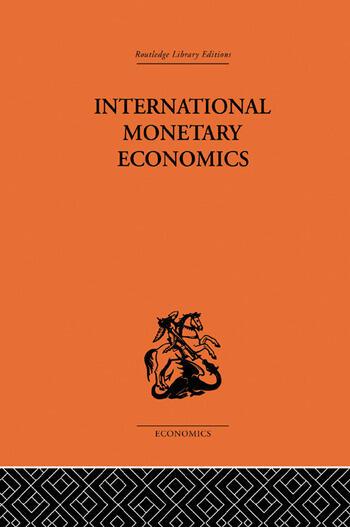 International Monetary Economics book cover