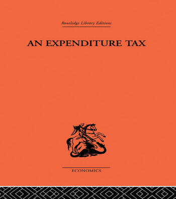 Expenditure Tax book cover