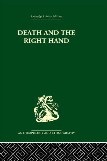 Death and the right hand book cover