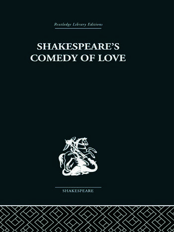 Shakespeare's Comedy of Love book cover