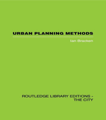Urban Planning Methods Research and Policy Analysis book cover