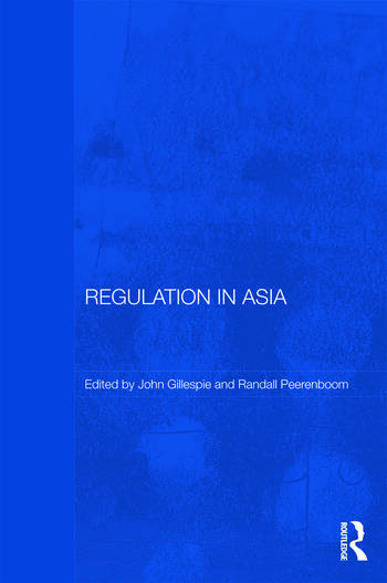 Regulation in Asia Pushing Back on Globalization book cover