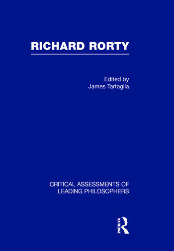 Richard Rorty book cover
