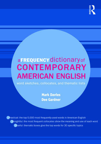 A Frequency Dictionary of Contemporary American English: Word