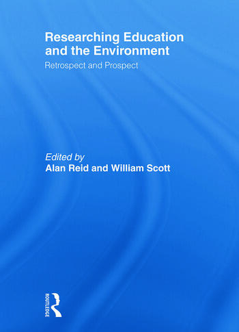 Researching Education and the Environment Retrospect and Prospect book cover