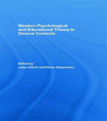 Western Psychological and Educational Theory in Diverse Contexts book cover