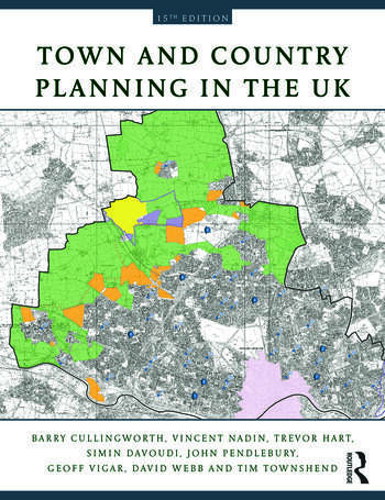 Town and Country Planning in the UK book cover