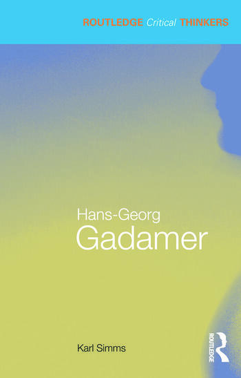 Hans-Georg Gadamer book cover